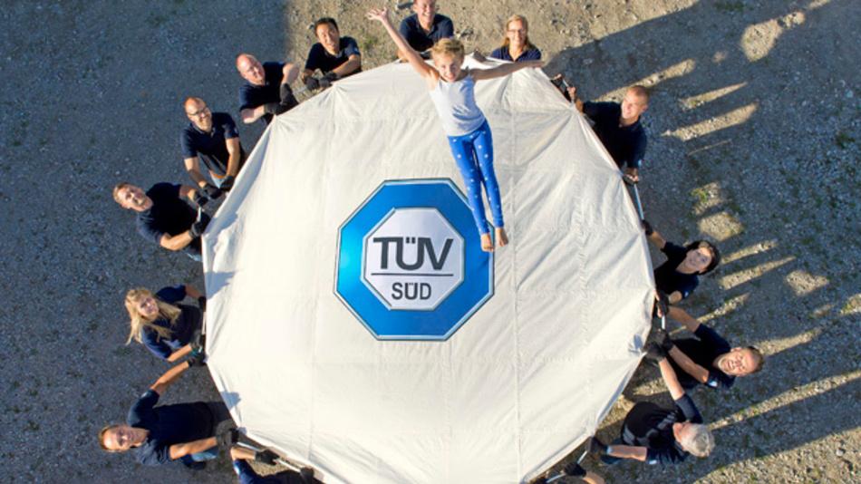TÜV SÜD feiert 150-jähriges Jubiläum.
