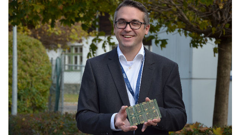 Michael Lang, CEO des Geschaeftsbereiches Advanced Packaging bei AT&S