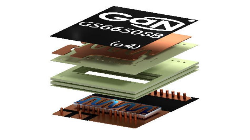 Das GaNPX-Package stellt eine Embedded-Gehäusetechnologie sehr nahe am Chipscale-Level dar