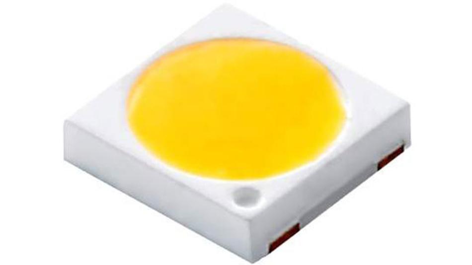 Der Megatrend Miniaturisierung macht auch vor LEDs nicht halt - bei der PC33H11 legte Lextar Wert auf eine verkleinerte Lichtaustrissfläche.