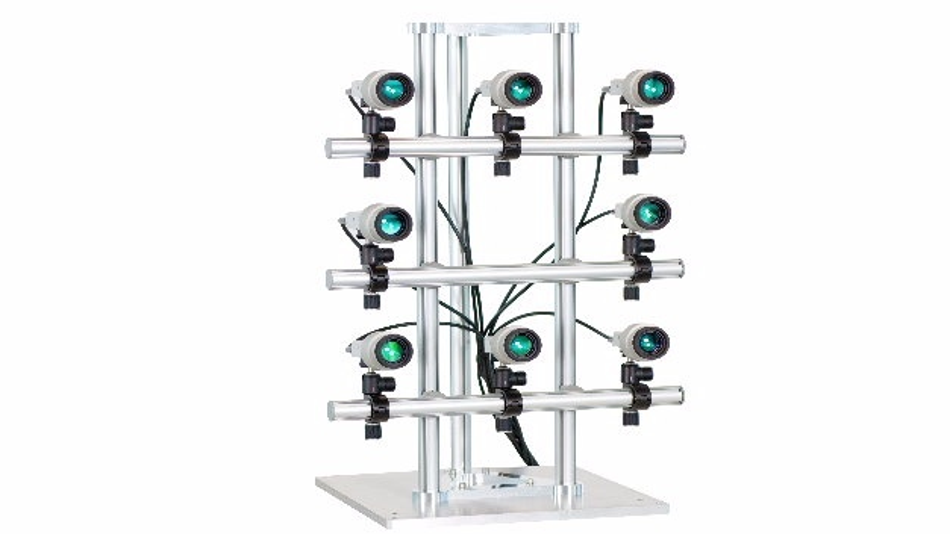 Grundlage für das Multipoint-Vibrometer ist das MPV-Basissystem, das sich modular auf ein Vibrometersystem mit bis zu 48 optischen Kanälen erweitern lässt.