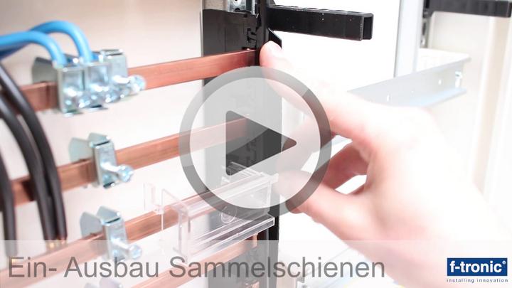 Video Montage Zählerschrank F-tronic