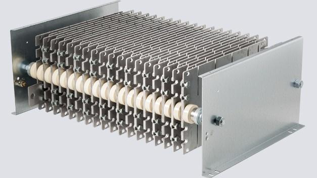 Bild 1: Stahlgitterwiderstand für die kurzzeitige Energieaufnahme von 6 MJ