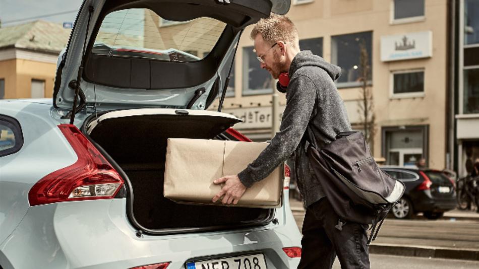 Der Kofferraum als persönliche Paketstation.