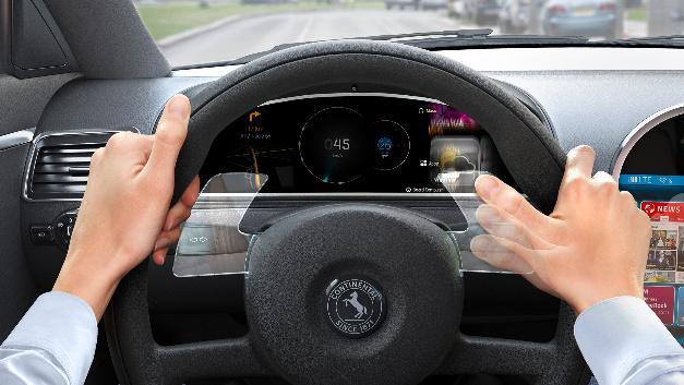Die Gestensteuerung am Lenkrad soll für mehr Sicherheit beim Fahren und optimierte Systemkosten sorgen.
