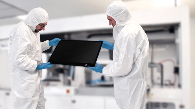 Optical-Bonding-Prozess für TFT-Module – 