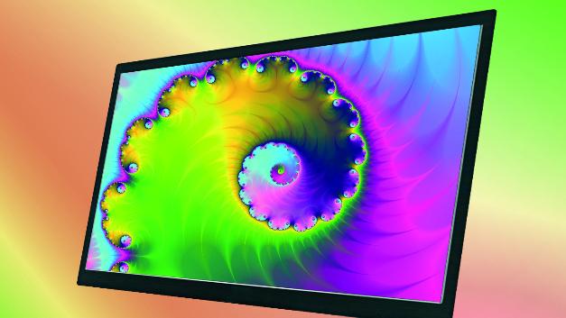 LGs 27-Zoll-TFT-Display LM270WF5-SLN2 im Vertrieb von Hy-Line glänzt durch das hohe Kontrastverhältnis von 1000:1.