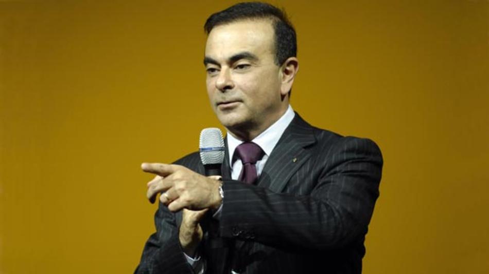 Will Mitsubishi den vollen Rückrat seines Unternehmens geben: Carlos Ghosn, CEO von Renault-Nissan.
