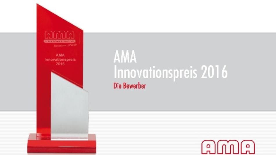 Kostenlos zum Download: AMA Innovationspreis 2016 – Die Bewerber