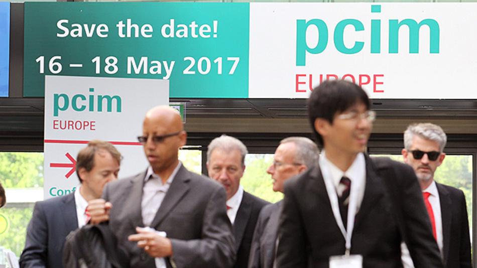 Die nächste pcim Europe findet vom 16. bis 16. Mai 2017 statt  - ohne parallele Sensor+Test.