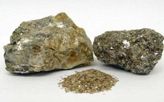 Lithiummaterial Zinnwaldit