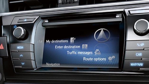 Karten von Here gibt es ab sofort für das neue Multimediasystem Touch-2-with-Go von Toyota.