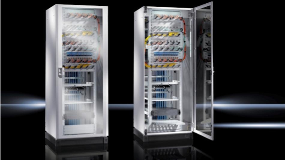 Für den TE 8000 ist ein umfangreiches Zubehör weltweit lieferbar, sodass Kunden den Netzwerkschrank individuell an ihre Anforderungen vor Ort anpassen können.