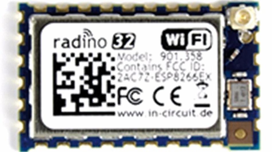 Bild 1: Radino32-WiFi-Modul