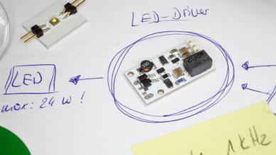 LED-Ansteuerung: Mikrocontroller mit Leuchte verdrahten ...