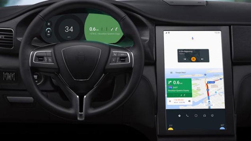 Konzeptauto mit Android Auto, basierend auf Qualcomms Snapdragon-Prozessoren 820A und 620A