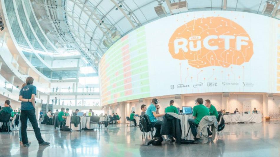 Rund 150 Teilnehmer kämpften beim diesjährigen ruCTF-Wettbewerbung um Sicherheitslücken.