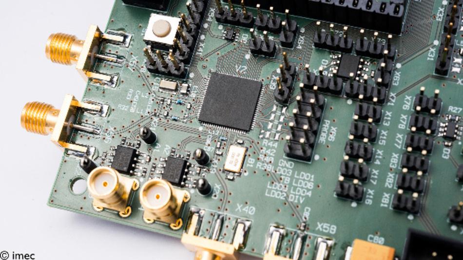 Der Multistandard-WAN-Funk-Chip von Imec und Holst Centre beherrscht die Protokolle IEEE802.15.4g/k, W-MBus, KNX-RF sowie LoRa und Sigfox.