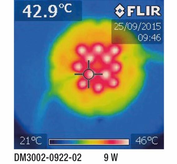 Bild 2: Mithilfe der neuen AC-IC-Chips wird eine gleichmäßige Wärmeverteilung auf der Platine erzielt
