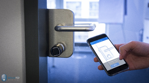 baimos technologies blueid mehr sicherheit f r mobile schl ssel elektroboerse. Black Bedroom Furniture Sets. Home Design Ideas