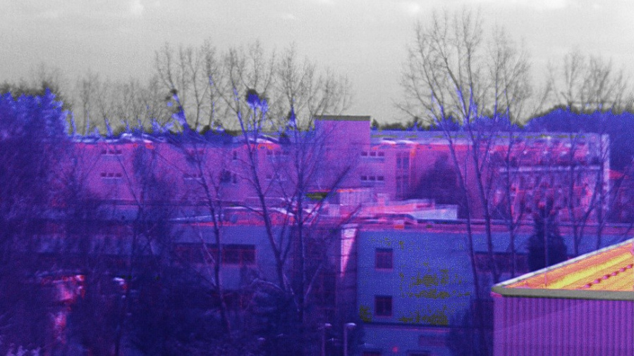 Mit der Multispektralkamera aufgenommenes Bild im sichtbaren und infraroten Spektralbereich.