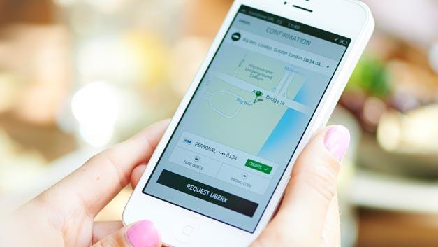 """Vom Geschäftsmodell """"Fahrdienstleistung"""" will auch Toyota profitieren. Die Japaner steigen daher bei Uber ein."""