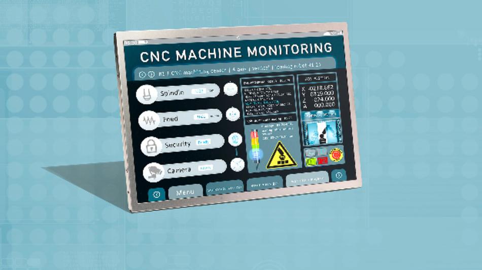 Innolux' 6,7 cm dickes 10,1-Zoll-TFT-Display G101ICE-L01 im Vertrieb von MSC Technologies hat eine Auflösung von 1280x800 Pixel bei einem Kontrastverhältnis von 800:1.