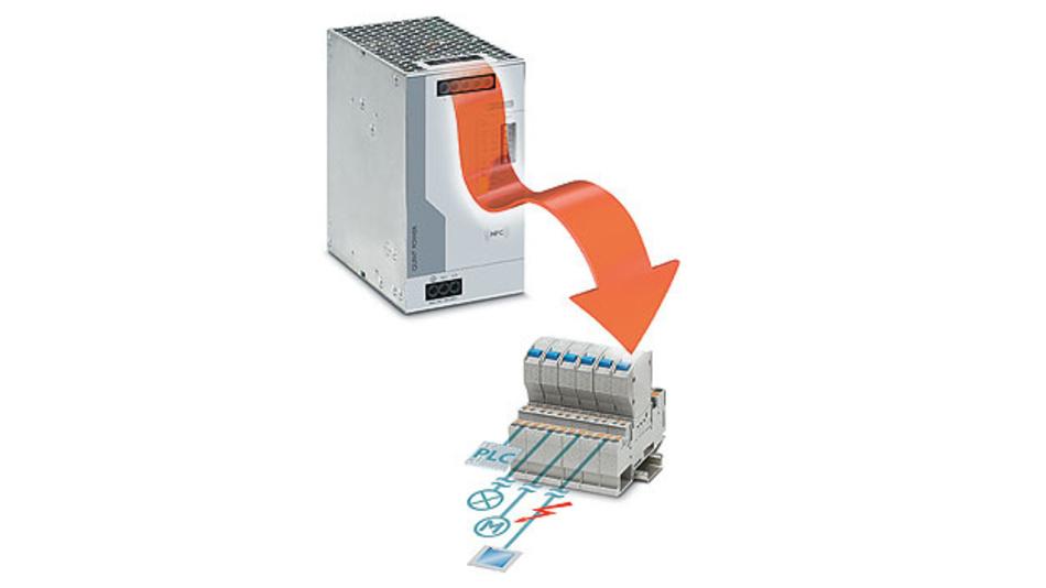 Bild 1. Die SFB-Technologie löst Standard-Leitungsschutzschalter selektiv aus; parallel angeschlossene Verbraucher arbeiten weiter.