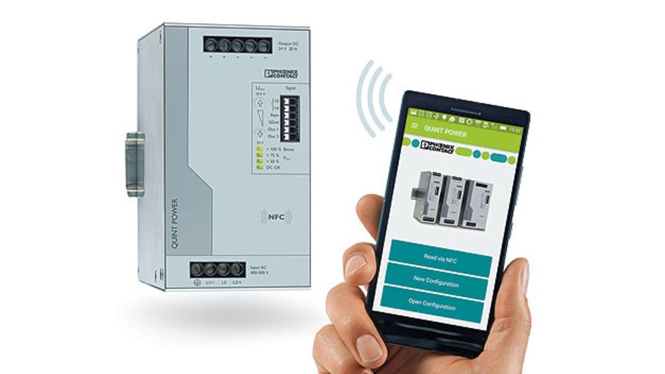 Kastenbild Übertragungstechnik NFC
