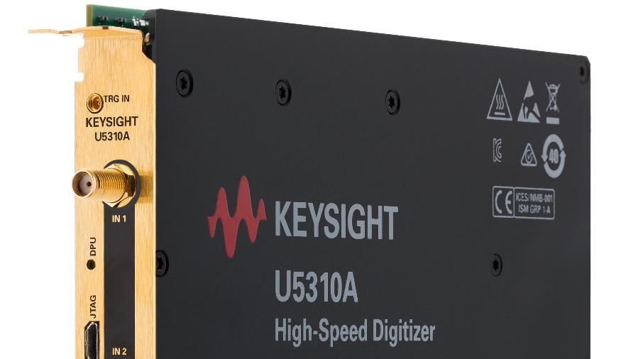DC-gekoppelte PCIe®-Hochgeschwindigkeits-Digitizer mit 10 GSa/s Abtastrate und 10 bit Amplitudenauflösung