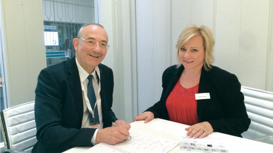 Christine Frank, Dell, im Gespräch mit Heinz Arnold, Markt&Technik »Die durchgehende Vernetzung über alle Ebenen zu schaffen,  ist ja kein Selbstzweck. Schlussendlich kommt es darauf an, neue Geschäftsmodelle umzusetzen  und in der neuen IIoT-Welt Geld zu verdienen.«