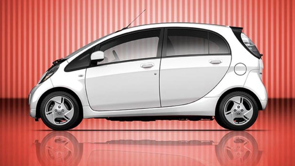 Die Kaufprämie für Stromer lohnt sich insbesondere bei einem Kleinswagen, wie dem Mitsubishi i-MiEV.