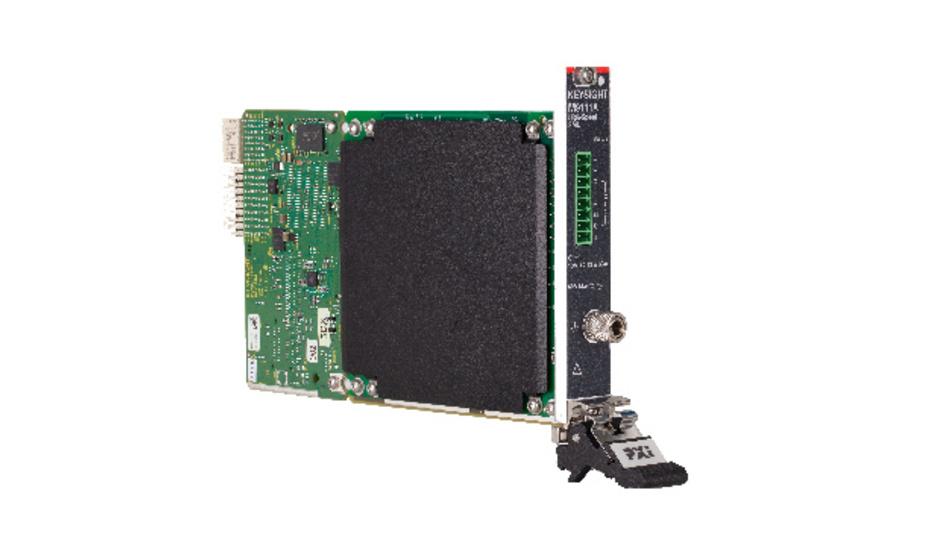 Die SMU M9111A ist Bestandteil von Keysights Referenz-Testlösung für HF-Leistungsverstärker und Front-End-Module.