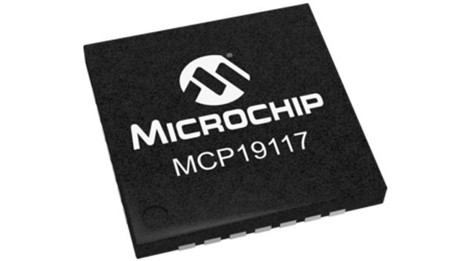 Der MCP19117 ist einer der beiden LED-Treiber ICs von Microchip mit integriertem Mikrocontroller.