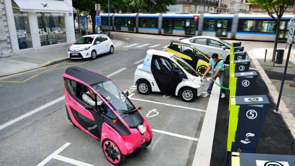 Erfolgreiches Carsharing-Konzept von Toyota und Partner in Grenoble: Cité Lib by Ha:mo.