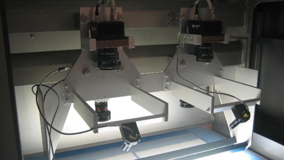 3D-Bildverarbeitung mittels Lasertriangulation, Oberflächeninspektion und Aufdruckkontrolle gibt es von Signum Computer in einem System.