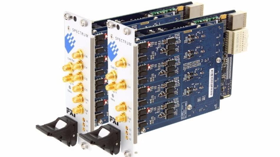 Sechs neue PXIe-basierte Highspeed-Digitizer ergänzen künftig das M4i-Portfolio von Spectrum.