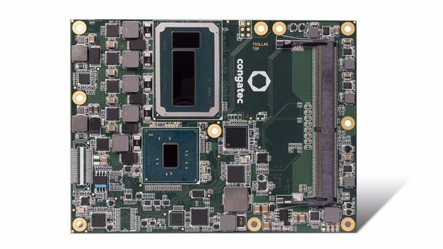 Server-on-Module conga-TZ170 mit Intel-Xeon-Prozessor und bis zu 128 MB eDRAM