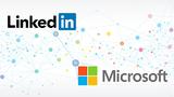 Logo von Microsoft und Linkedin