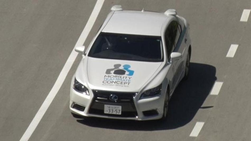 Die Regierungschefs testeten autonomes Fahren auf dem G7-Gipfel im japanischen Ise-Shima.