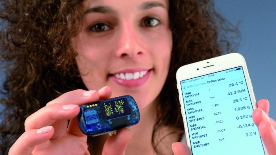Die neueste Generation der MSR-Datenlogger MSR145WD setzt auf anwenderfreundliche Funk-Technologien wie Bluetooth Low Energy. Mittels MSR DataLogger App lassen sich Echtzeitwerte abrufen sowie Datenaufzeichnungen starten und stoppen.