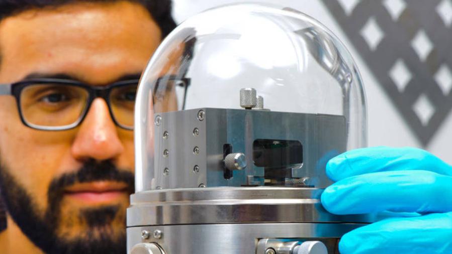 Sensor-Entwicklung auf Basis von Nanomaterialien an der TUM.