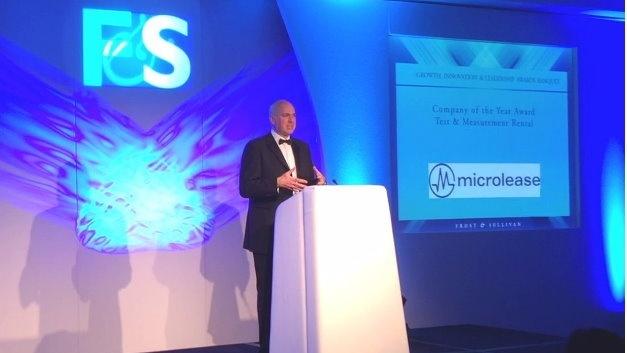 Erneut geht der Best-Practice-Preis von Frost & Sullivan an den Miet- und Leasinganbieter Microlease.