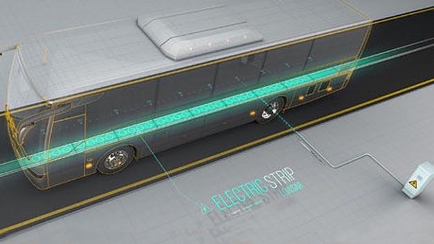 Mit der Lösung von ElectRoad sollen Elektroautos während des Fahrens über in die Straße eingelassene Kupferleitungen geladen werden können.