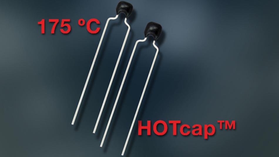 Die Bauteile der K…H-Serie decken einen Kapazitätsbereich von 100 pF bis 1 μF ab.