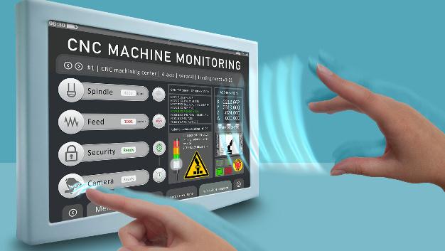 Berührungslos auch mit Handschuhen bedienbar sind die 3D-Touch-Screens von MSC Technlogies' Eigenmarke GE-STAR mit Diagonalen von bis zu 15,6 Zoll.