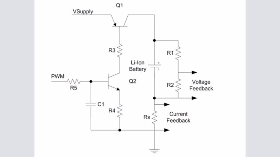 Bild 3: Lineare Topologie zur Realisierung der Spannungsquelle