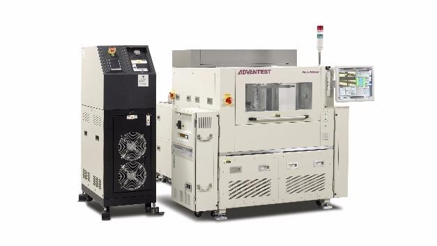 Dank des niedrigen Temperaturkoeffizienten und der hohen Wärmekapazität eignet sich der Die-Handler HA1000 von Advantest auch für Leistungsbauteile.