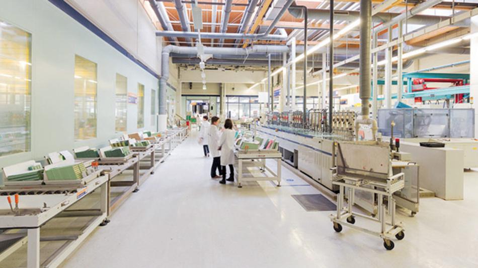 AT&S ist Europas größter Leiterplattenhersteller und nach eigenen Angaben Marktführer beim Chip Embedding