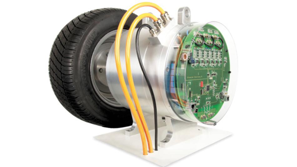 40kW E-Drive (in Kooperation  mit der ETH Zürich entwickelt)  – Smart p² Pack Motor Demonstrator
